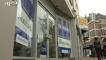 RTL Nieuws Radicale aanpak leegstand winkels