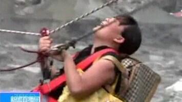 RTL Nieuws Opmerkelijke redding in China