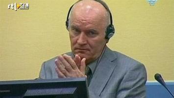 RTL Nieuws Mladic voor het eerst voor de rechter