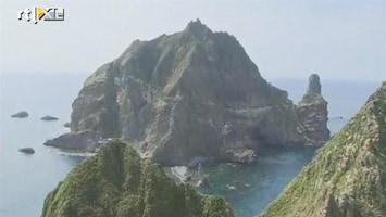 RTL Nieuws Ruzie tussen Japan en Zuid-Korea om twee rotspunten