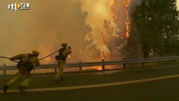 RTL Nieuws Noodtoestand in Californië door bosbrand