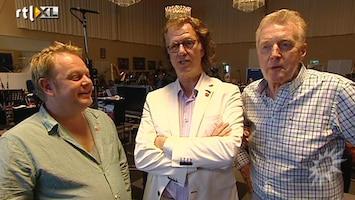 RTL Boulevard Andre Rieu, Andre van Duin en Martijn Fischer repeteren voor Koningsbal
