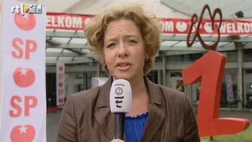 RTL Nieuws Marijnissen onwel tijdens SP-congres