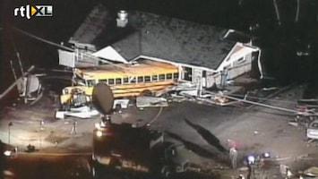 RTL Nieuws Schoolklas ontsnapt aan tornado