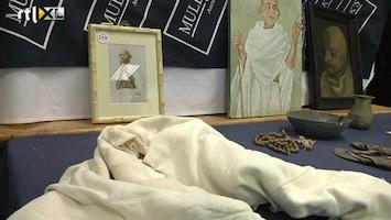 RTL Nieuws Spulletjes van Mahatma Ghandi geveild