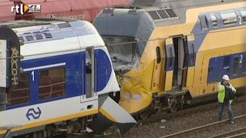 RTL Nieuws Veel zwaargewonden bij treinbotsing