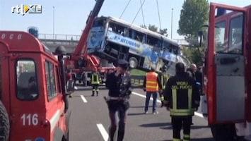 RTL Nieuws Dodelijk busongeluk Italië