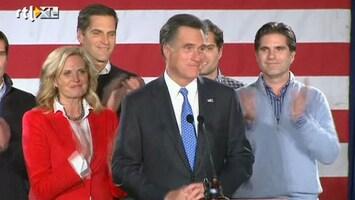 RTL Nieuws Romney wint voorverkiezing Iowa