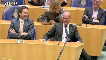 RTL Nieuws Rode potloden in stemhokje van het merk Samsom