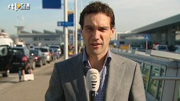 RTL Nieuws 'Rekening houden met vertraging op Schiphol'