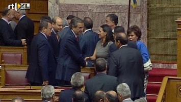 RTL Nieuws Griekse regering krijgt vertrouwen parlement