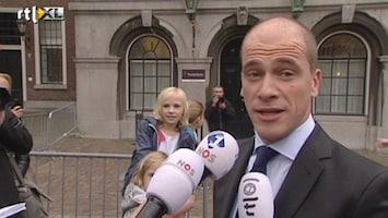 RTL Nieuws Samsom en Rutte houden kaken stijf op elkaar