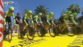 RTL Nieuws Dag 4 van de Tour: de ploegentijdrit