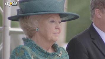 RTL Nieuws Koningin arriveert op Aruba