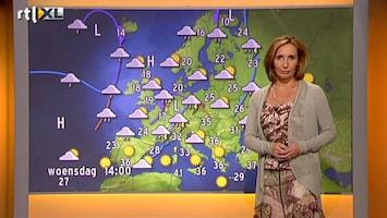 RTL Nieuws Vakantieweer met Margot Ribberink