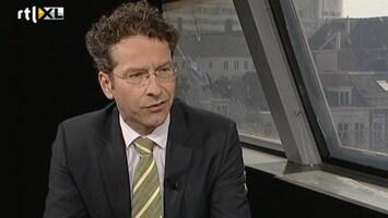 Editie NL Dijsselbloem: 'ik heb me niet verkeerd uitgedrukt'