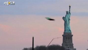 RTL Nieuws Vliegende mannen in New york