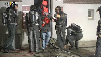 RTL Nieuws Grote brand in flat Rotterdam