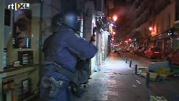 RTL Nieuws Spaanse politie schiet met rubber kogels bij bezuinigingsprotest