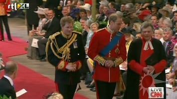 RTL Boulevard Getuige Harry op Royal Wedding