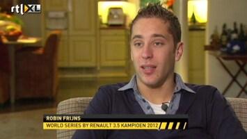 Rtl Gp: Formule 1 - Robin Frijns Blikt Terug Op Fr3.5