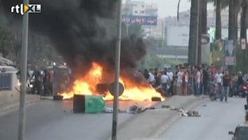 RTL Nieuws Libanon verstrikt in geweld Syrië