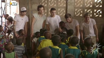 RTL Boulevard One Direction van slag in Afrika
