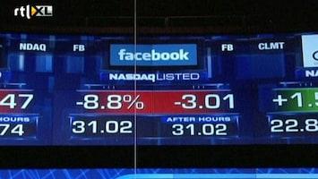 RTL Nieuws Beleggers balen van Facebook-beursgang