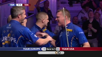 Pool: Mosconi Cup - Afl. 1