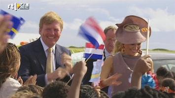 RTL Nieuws Koninklijke familie op Curaçao