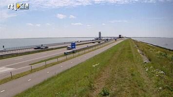 RTL Nieuws Afsluitdijk oud en vermolmd
