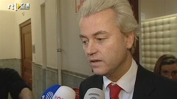 Editie NL Wilders: 'niemand gelooft het kabinet'