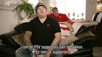 Voetbalfans PSV-fan Bert over de Eindhovense politie