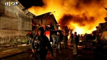 RTL Nieuws Grote brand in Myanmar