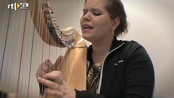 RTL Boulevard Harpenmeisje Iris zingt Nooit Meer een Morgen van Marco Borsato