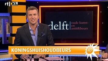RTL Boulevard Koninklijke inboedel op antiekbeurs in Delft