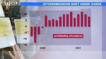 RTL Z Nieuws De overheid leent minder uitzendkrachten in