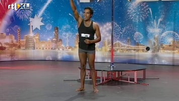 Het Beste Van Got Talent Worldwide Matty laat een verrassende optreden zien