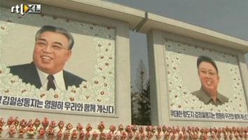RTL Nieuws Megaportret Kim Jong Il naast dat van z'n vader