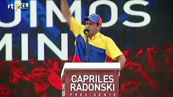 RTL Nieuws Spannende verkiezingen Venezuela