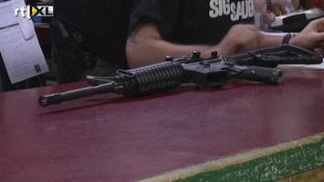 RTL Nieuws Run op vuurwapens in VS