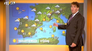 RTL Nieuws Het Vakantieweer van Europa