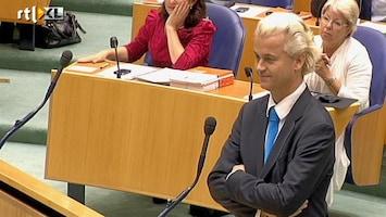 RTL Nieuws Wilders en Cohen keffend in kamer