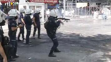 RTL Nieuws Turkse protesten tegen Erdogan houden aan