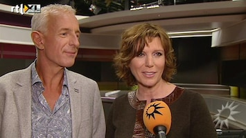 RTL Boulevard Frank en Myrna in Studio Max Live