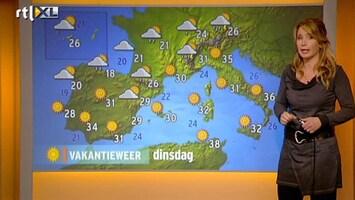 RTL Nieuws Vakantieweer: zonnig in het zuiden