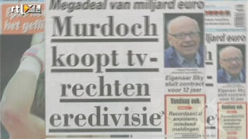 RTL Boulevard Rupert Murdoch koopt uitzendrechten Eredivisie