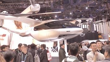 vliegende auto hyundai uber sony mercedes zelfrijdende auto concept ces 2020