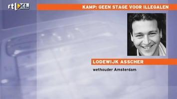 RTL Nieuws Wethouder Asscher: Ongepast dat Kamp in hoger beroep gaat
