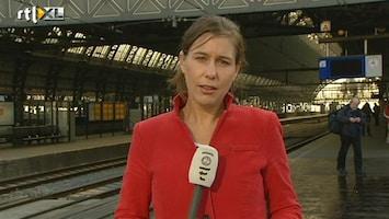 RTL Nieuws Floor Bremer: Voorlopig nog wel lege perrons